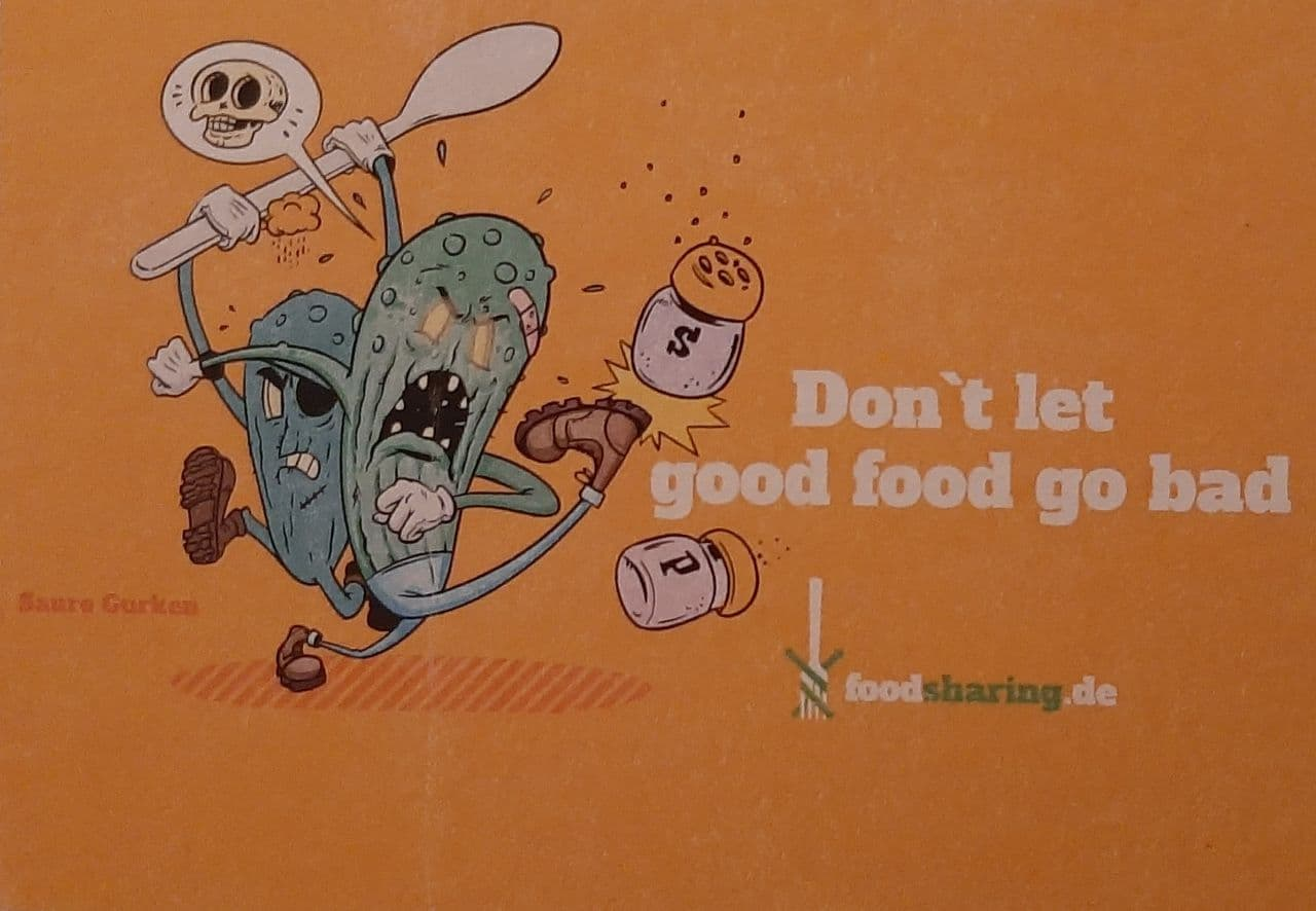 Foodsharing Fulda Stickeraktion
